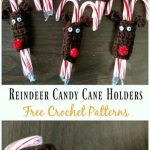 27 ideas crochet patterns free christmas candy canes