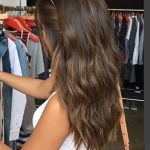 30+ Brown Medium Length with Natural Wave Hairstyle Ideas That Every Fashion Girls Should Try Isabellestyle Blog