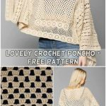 32+ Inspiration Picture of Free Crochet Poncho Patterns - trendcrochets.com