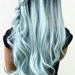 33 Blue Ombre Hair Color Trend In 2019 Latest Fashion Trends for Women sumcoco.com