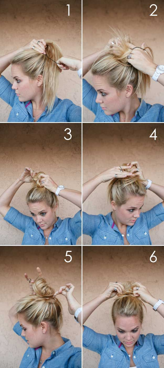 35 Best 5 Minute Hairstyles – The Goddess