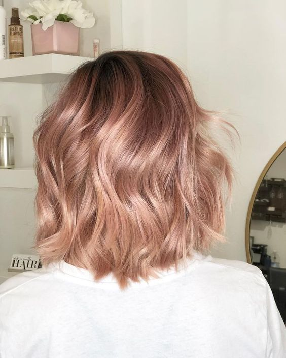 35 Charming Rose Gold Hair Colors – LoveIn Home
