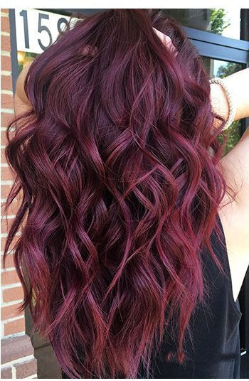 37 BEAUTIFUL WINE HAIR COLOR FOR SPRING AND SUMMER – Page 16 of 37 – Veguci
