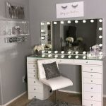 40 Creative DIY Makeup Vanity Design Ideas, The Inpire Mind #tumblrroom 40 Creative ...