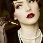 40+ Great Gatsby Inspired Makeup Styles 25