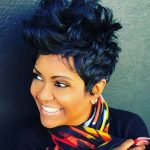 40Stunning african american short hairstyles for women-2017