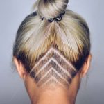 45 Undercut Hairstyles with Hair Tattoos for Women With Short or Long Hair