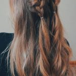 46 unforgettable wedding hairstyles for long hair 2019 - half up half down wedding hairstyle with braids - hairstyles - NailiDeasTrends