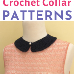 5 Super Simple Crochet Collar Patterns for Beginners   Happiness is Handmade