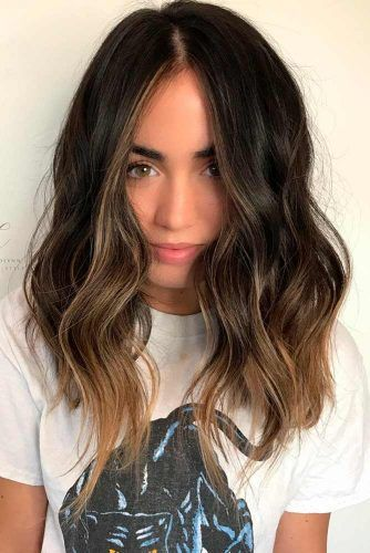 51 Sexy Shoulder Length Haircuts For Trendy Look