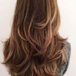 52 ideas haircut for long hair round face layered
