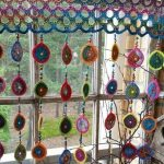 54+ Ideas Crochet Flowers Curtain Granny Squares