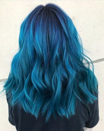 65 Awesome Blue Hair Color Ideas (12) – Fashion and Lifestyle
