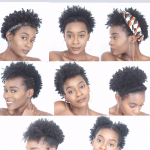 8 Easy Protective Hairstyles For Short Natural 4C Hair That Will Not Damage Your Edges ⋆ African American Hairstyle Videos - AAHV