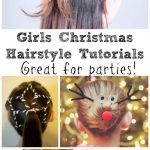 8 Festive Girls Christmas Hair Style Ideas with Tutorials - In The Playroom