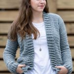 Free Crochet Sweater Pattern - video tutorial