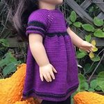 American Girl Doll Night in October Dress pattern by Elaine Phillips