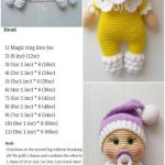 Amigurumi Doll Pacifier Baby Free Crochet Pattern - Crochet.msa.plus - Amigurumi Patterns And Tutorials - BuyThenNow