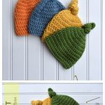 Baby Top Knot Hat Free Crochet Patterns & Paid - DIY Magazine