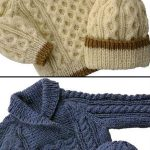 Baby to Toddler Cable Sweater & Hat Knitting pattern by KittyKnits