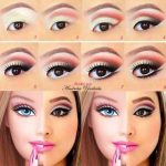 Barbie♡ this would be perfect for a Halloween costume!! #EyeMakeupHalloween