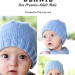 Basic Knit Baby Beanie - Free Knitting Pattern — Hooked On Tilly