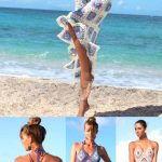 Beach dress, Crocheted Granny Square Backless Sundress, Festival Gypsy maxi dress
