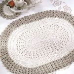 Best Free Crochet » Free Oval Placemat & Coaster Crochet Pattern from RedHeart....