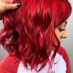 Best Vibrant Red Hair Color Ideas to Try in Year 2019 | Voguetypes