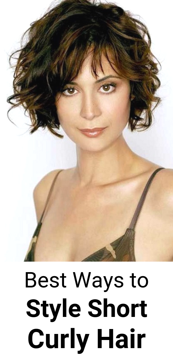 Best Ways to Style Short Curly Hair