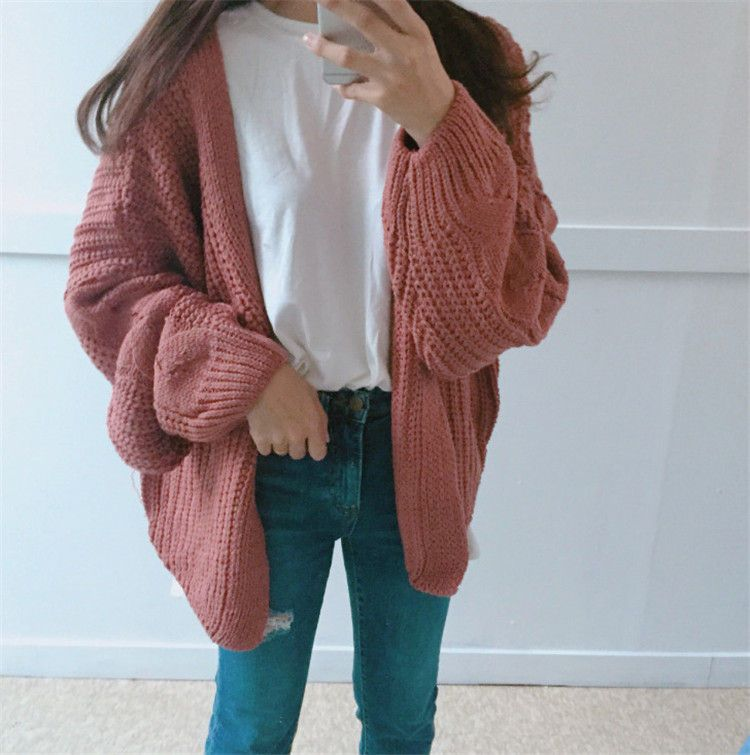 Buy Moon City Cable-Knit Cardigan | YesStyle