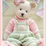 CANDY Bear Knitting pattern by Mary Jane's Tearoom