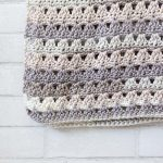 CROCHET PATTERN - Throw Blanket + Quick Crochet Blanket Pattern + Alissa Throw