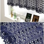 Cafe Curtain Crochet