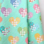 Checkered Heart Quilt - a free quilt pattern - ellis & higgs