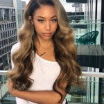 #Chinalacewig Ombre Color Brazilian Virgin Human Hair Body Wave 360 Lace Front W...