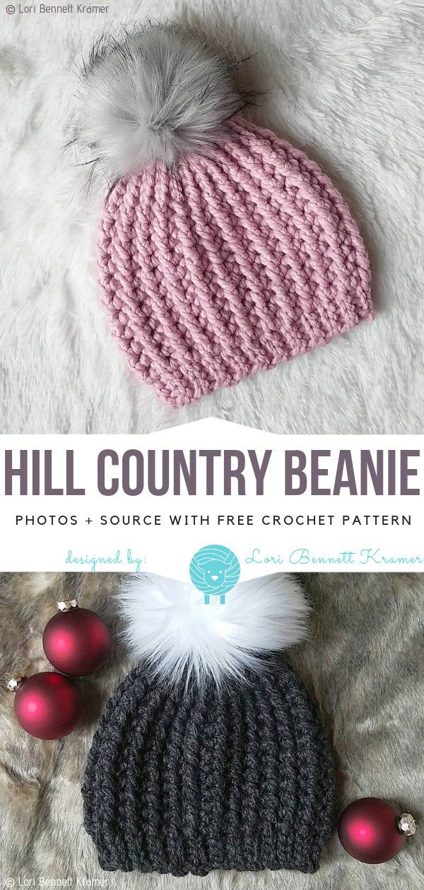 Cosy Winter Hats Free Crochet Patterns – Free Crochet Patterns