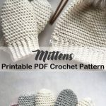 Cozy Mittens Crochet Patterns – Great Cozy Gift - A More Crafty Life #crochet ...