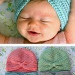 Crochet Baby Turban by this mom does things - free crochet pattern - (thismamam ...