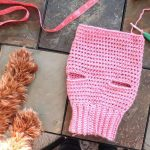 Crochet Basic Dog Sweater - Free Step by Step Tutorial - Maria's Blue Crayon
