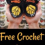 Crochet Butterfly Patterns,Free Crochet Butterfly For Granny Square New Skills-C...