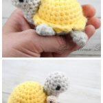 Crochet Little Turtle Amigurumi Free Patterns - DIY Magazine
