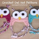 Crochet Owl Hat Pattern - Repeat Crafter Me