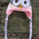 Crochet Owl Hat Pattern in Newborn-Adult Sizes - Repeat Crafter Me