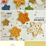 Crochet Star Patterns / 37 Free Crochet Start Stitch