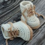 Crochet pattern Baby Boys Booty Combat Boot Crochet by Inventorium #