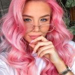 Cute Pastel Pink Hair Colors for Long Waves Hair in 2019 | Mode Ideas