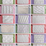 Dishcloth Knit Stitch Patterns