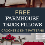 Don't you just love the iconic holiday decor? Who can resist a farmhouse truck...