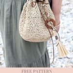 Drawstring Bag Crochet Pattern | Handy Little Me